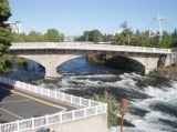 Riverfront Park + Spokane River