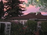 Sunset at home - Pink skies of Maui over Hale Ho'okipa Inn