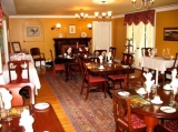 Dining Room - A candlelight full hot breakfast is served daily in the dining room