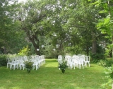 Wedding Ceremony - Our Inn is the perfect location for a special wedding ceremony. We can host up 30 people for a sit down dinner in our dining room, or up to 150 people for a tented event on the grounds.