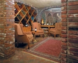 Wine Cellar and Martini Bar - After the hustle and bustle of a busy day relax in the wine cellar and martini bar.  The cellar cozy and intimate, is  open Tuesday thru Saturdays 4:30pm to 9:00pm.