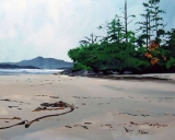 """""""Cobb's Bay - Tofino"""" - Jim McFarland<br />Acrylic on Canvas<br />24 x 30<br /><br /><br />To see more of Jim's work please visit our website:<br />www.morrisgallery.ca"""