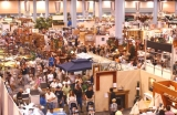 Overhead Photo of Event - Thousands of products, services and new ideas for home improvements, updates, remodeling and decorating projects are on display....all in one convenient setting.