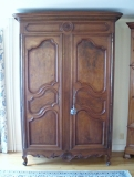 French Armoire - Rare Late 18th Century Louis XV French Armoire