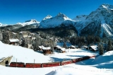 Welcome to Arosa! - From Chur, there is an hourly departure to AROSA with the romantic Rhaetian Railway