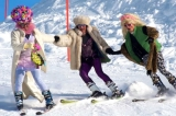 Drag-queen Fun Race - This is one of the highlight during the skiweek