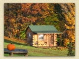 One of the cabins at Stag Run Club