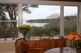 View from Kitchen/Dining Room - There's even enough room for a swimming pool overlooking the salt marsh and Cape Cod Bay!