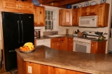 2.88 Acres of Heavenly Privacy! - Custom post-and-beam with cement countertops!