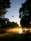 Balloon Launch over our Pond
