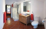 The ensuite in Cottage 1