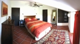 The master bedroom in Cottage 2
