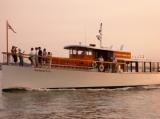Yacht Manhattan - Yacht Manhattan at Sunset NYC