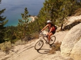 Flume Trail - One of the top ten mountain bike trails in US.  Trailhead at Spooner Lake State Park.