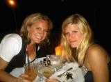 Sand Castle on the Beach - Friends enjoying dinner at Beach Side Cafe!