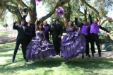 Quinceanera and Chambelanes