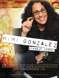 Mimi Gonzalez Flyer - Flyer, postcard, and magazine ad for lesbian comedian Mimi Gonzalez