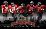 Bay State Warriors poster - Poster for the Bay State Warriors Women's Tackle Football Team