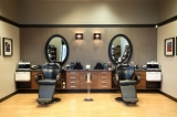 Commercial hair salon renovation