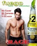 Fuego @ Rage Restaurant & Bar - Hot Latin boys dancing to the hottest Latin music.
