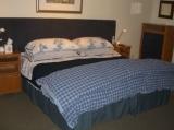 King bed set-up