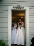 Two Happy Brides - Elegant suites are available for you for changing - or you can share!