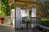 Personal Hot Tub - All of our cottages offer decks and personal hot tubs for your enjoyment and recreation.
