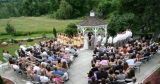 Gazebo Ceremony - Wedding ceremonies can be performed on site at our charming gazebo.
