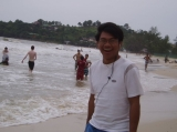 BEN - My picture at the Sihanouk Vill beach