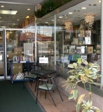 Storefront 4 - The right-hand side of our storefront windows, when entering our alcove from Main Street, downtown Sarasota.