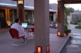 Blackstone Courtyard - Blackstone's central courtyard area comes with free wireless internet.