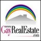 GayRealEstate.com LOGO - <a>Gay Real Estate Realtors</a>