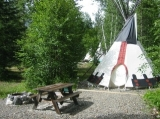 Teepee - Sleeps up to 5 people