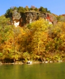 The Bluff from the river