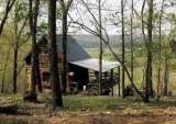 Aunt Phoebe's log cabin