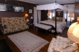 Suite 2 - Suite 2 Beautiful first floor corner suite, Queen canopy bed, gas fireplace, private bath with 2 person steam shower.
