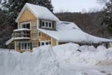 Cottage in Winter - A great place for winter visitors--just 13 miles from Smugglers Notch at a fraction of what you'd pay right at the slopes.
