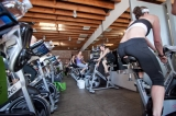 YAS Fitness Centers-Venice Spin Room - Sexiest Spin room in the city...