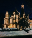 The Batcheller Mansion During the Winter
