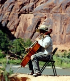 Harry Gilbert ' Cellist' Music Journey - Dolores River private concerts for you daily!