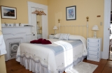 Azalea Room - Tall windows brighten this charming room, which features a double and twin size bed.<br /><br />Occupants: 3<br />Smoking: No<br /><br />2015 RATES:<br />Summer (May 16-October 31): $149.00<br />Early Winter (November 1-December 31): $129.00<br />Winter (January 1-May 15): $109.00