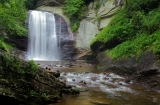 Waterfalls in NC Mountains - Explore the Land of Waterfalls in the North Carolina mountains near Asheville. See our Top 25 Waterfalls with full page guides to each with many photos and videos: http://www.romanticasheville.com/waterfalls.htm