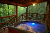 Secluded Mountain Cabin Rentals - Find gay-friendly places to stay in the North Carolina mountains in and near Asheville - including secluded cabins with hot tubs, gay-owned B&Bs, and pet friendly hotels: http://www.romanticasheville.com/gayandlesbian.html