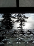 WEDDING meals - the main lodge of craidelonna<br />can seat up to 70 guests for dinner service<br />ALL OCEAN FRONT VIEWS...<br />we also do intimate small gathering of twenty.<br />IF YOU WISH...<br />smiles