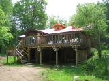 Algonquin Eco-Lodge - The main lodge building