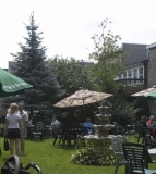 Coutyard Garden - A lovely private space for a relaxing lunch or a wedding service.