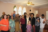 Some of Bethel's Congregation - While celebrating Godspeed for a moving saint, we paused to snap a picture