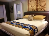 The Ali'i Room - King Room with Private Full Bathroom:<br /><br />Free Toiletries<br />Free Towels<br />Free Bottle of Water<br />Free Cable <br />Free Internet<br />Free Streaming Video (Via ROKU devices)<br /><br />Visit site: http://www.malolobandb.com