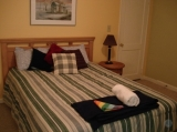 Enjoy the Crown suite - This suit has 2 queen beds & private bath.  The is a balcony viewing the garden.    Free wifi & continental Bkf.