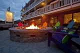 Surfside Hotel and Suites - Join us at the fire pit for an evening cocktail from the Lighthouse Bar.